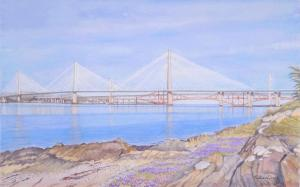 Prints of the new Queensferry Crossing