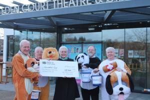 Panto Collections support Children First
