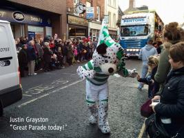Oswestry Christmas Parade, Saturday 7th December