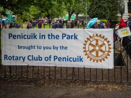 Penicuik in the Park on 25th May 2019