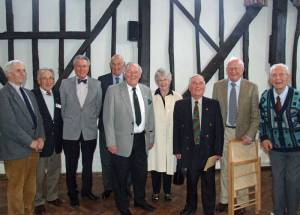 14 March 2012 - we welcome nine old friends to our Past Members' Lunch