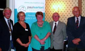 Tenby Rotary learn about the Paul Sartori Foundation