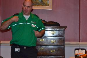 Speaker - Paul Buckley of St. John Ambulance - How to use a defibrillator