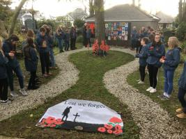 Wadebridge School Peace Garden Opened