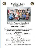 Swindon Pegasus Brass Band Concert