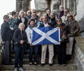 French Rotary Club visit to Penicuik
