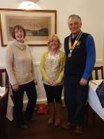 Penny Joins Rotary