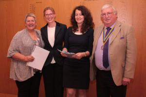 FLEET ROTARY WELCOMES THREE NEW MEMBERS