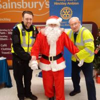 Collecting with Santa