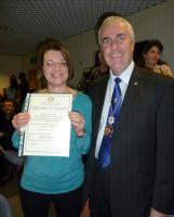 Poole Rotary Award for Nursing Excellence at Poole Hospital - Ros Nash