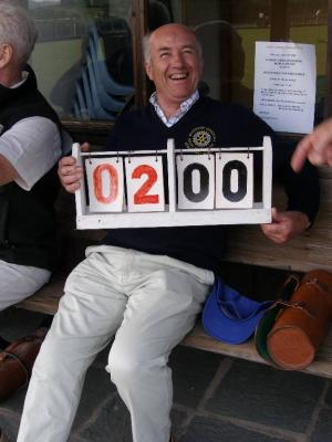 Another memorable defeat! (Bowls 2008)