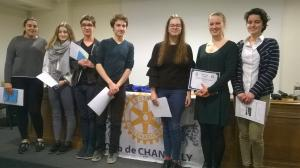 Chantilly Rotary Club – English Public Speaking Competition