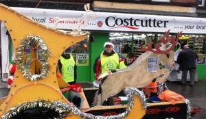 Sleigh Static Display in Upminster and Street Collections