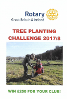 Rotary Tree Planting Challenge : 24 March 2018