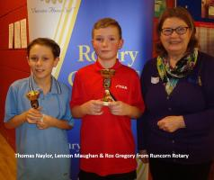 TABLE TENNIS SUCCESS AT HALTON 2 STAR TOURNAMENT