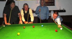 Snooker Highlights by Rotarian John Kent
