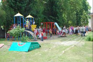 Ukraine school playground equipment for disabled children