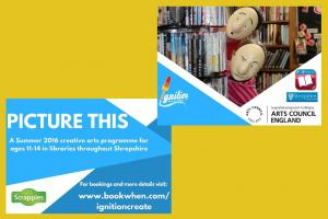 'Picture This' Creative Workshop @ Oswestry Library