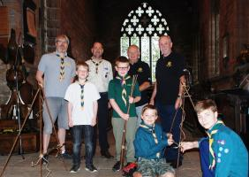 Coffee, cakes and cash for local Scouts