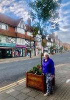 New tree planters for Amersham