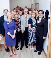 Rutherford supported Library opens at Arthur Rank Hospice