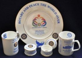 Fine Bone China items for sale to raise funds for The Rotary Foundation