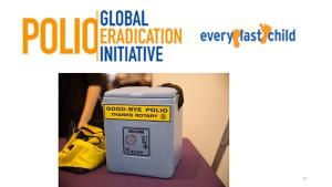 International projects: Polio:Ten facts & more to know