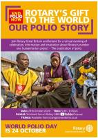Rotary's 'monumental contribution' to ending polio celebrated