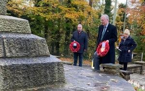 Subdued event at War Memorial on Remembrance Sunday