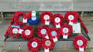 Remembrance wreath 2020