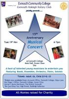 Charity Concert at Exmouth Community College