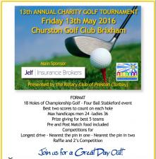13th Annual Charity Golf Tournament - Churston