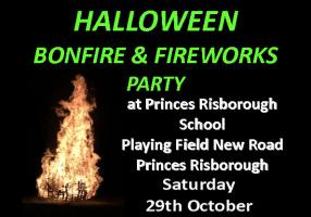 Halloween Fireworks and Bonfire Party 2016