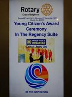 Young Citizen's Awards 2018