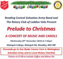 Prelude to Christmas 28th November
