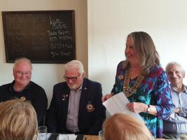 Lunch meeting and DG visit Sitwell Arms, Bucknell