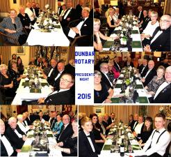 Rotary Club of Dunbar President's Night