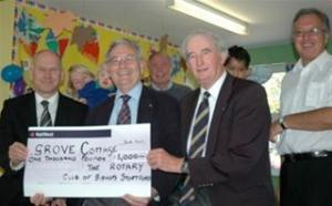 ROTARY GOLFERS WIN £1000 FOR CHARITY