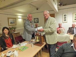 Presentation to Bungay Town Mayor