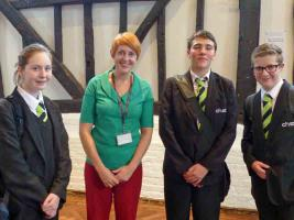 2 October 2013 - Chiltern Hills Academy students tell of their Tall Ships Challenge