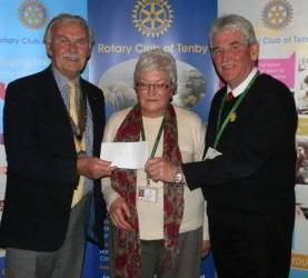 Rotary support Key Charities