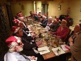 Christmas dinner at the Stagg in Titley