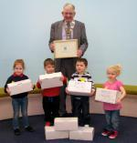 2012 Rotary Shoebox Appeal achieves a total of 2021 Shoeboxes