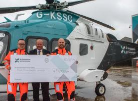 Rotary Club supports local Air Ambulance charity