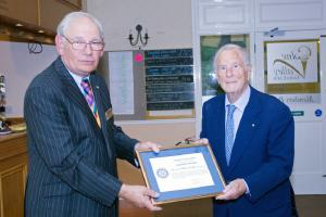 Honour for Founder Member of the Club