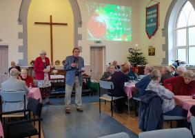 Knighton Churches Together Pensioners Xmas