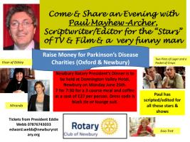 President's Dinner with Paul Mayhew-Archer