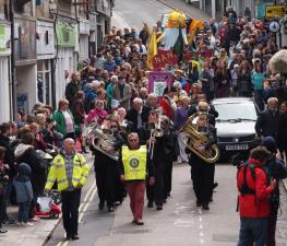 Procession Through the Town