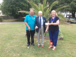 Cheque presentation to Torbay Prostate Cancer