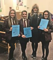Success for Tytherington School in Rotary Youth Speaks Local Heat